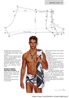 Mens Sewing Patterns, Dress Patterns, Modern Tailor, Underwear Pattern, Screen Printing Shirts, Beachwear, Swimwear, Pattern Cutting, Swim Trunks