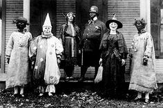 Com bem menos recursos, as fantasias de Halloween eram muito mais assustadoras