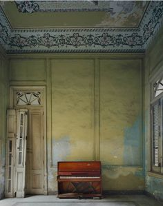I'd love to have an empty room with just a chair to sit and soak up all those lovely details.