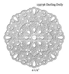 Darling Doily Thinlit sizes shared by Dawn Olchefske #dostamping #stampinup