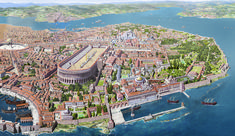 Reconstruction of Constantinople in the eleventh century