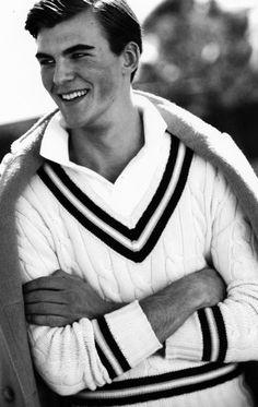 Love the tennis sweater!