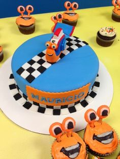 Turbo birthday cake