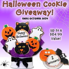 Halloween Cookie Giveaway!