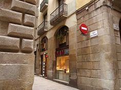C/ St. Honorat cantonada C/ St. Sever. Barcelona