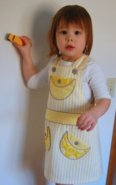 Overall dress tutorial.  This blog has lots of pattern making tutorials!