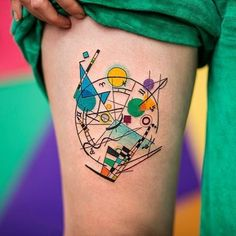 ✍Kandinsky adaptation✍ by Lucas @fivecatstattoohouse Buenos Aires  #tattrx #kandinsky #tatuaje #tatuagem #tattoo #tattooart #fivecatstattoo #buenosaires #argentina #modernart #tattooartist #contemporaryart #kunst #abstractart #abstract #fineline #tattooist #abstrakt #dövme #artcollector #artlovers #artgallery #artoftheday #arthistory #artnerd #arte #wassilykandinsky