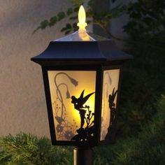 New Disney Tinker Bell Solar Light Lamp Lantern Garden Outdoor Light Japan - I'm thinking you could DIY with cheap solar lanterns and contact paper. Estilo Shaker, Casa Disney, Disney House, Disney Disney, Disney Hall, Deco Disney, Disney Garden, Disney Home Decor, Diy Disney Decorations