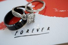 Engagement Ring and Wedding Bands | Carnegie Library, DC Wedding | Wale Ariztos Photography
