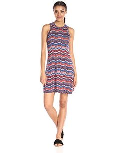 Karen Kane Womens Wavy Printed Halter Dress Print XSmall >>> Check out this great product.