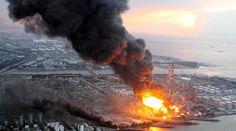 Explosión de reactor nuclear.
