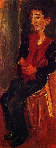 Chaim Soutine: Alfred, Bellhop at Auxerre. ca. 1932. Private collection.