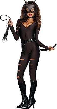 women's costume: night prowler