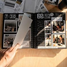 Album Photo Polaroid, Diy Album Photo, Travel Photo Album, Family Photo Album, Polaroid Photos, Photo Album Book, Photo Books, Scrapbook Cover, Scrapbook Journal