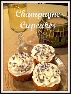 Champagne Cupcakes | Organized Island