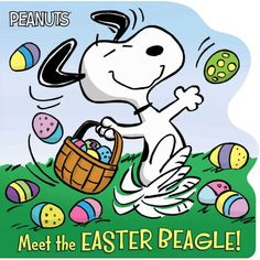 """Read """"Meet the Easter Beagle!"""" by Tina Gallo available from Rakuten Kobo. Celebrate Easter with Charlie Brown, Snoopy, and the rest of the Peanuts gang in this sweet shaped board book! Charlie Brown Easter, Charlie Brown And Snoopy, Snoopy Images, Snoopy Pictures, Art Beagle, Beagle Puppy, Peanuts Cartoon, Peanuts Gang, Snoopy Love"""