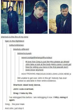 Love everything in this post. Like really so ADORABLE and just Lestrade just ftw