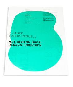 fünf jahre labor visuell by Henning Humml, via Behance