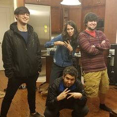 Ethan and Hila Klein (h3h3productions), Jon Jafari (JonTron), and George Miller (TvFilthyFrank)