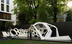 Courtesy of Bulgari - Serpenti Installation For Bulgari Zaha Hadid