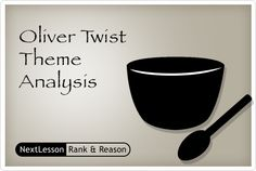 thematic analysis of oliver twist After classifying and analyzing the conversations in oliver twist, this  this  paper chooses 17 ones closely related to the theme of the novel to analyze by  doing.