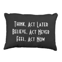 Inspirational Quote, Accent Pillow