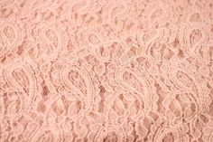 Masala Blush Stretchy Lace Fabric by the Yard, for Bridal, Arts and Crafts, Decoration - 1 Yard Style 310    Masala Blush Stretchy Lace Fabric by the