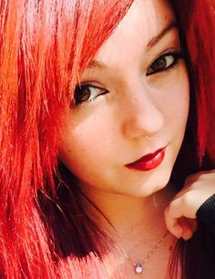 Red Hair Makeup, Faux Septum Ring, Nose Rings, Sterling Silver, Emo, Piercing, Cuffs, Copper, Holidays