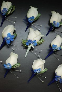 cool wedding flowers blue best photos