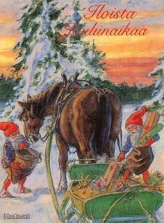 Curt Niström, Christmas card 10 x Sweden Norwegian Christmas, Merry Christmas And Happy New Year, Vintage Christmas Cards, Scandinavian Christmas, Christmas Elf, Xmas Cards, Christmas Glitter, Most Popular Artists, Decoupage Glass