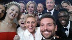 Ellen DeGeneres' Oscars selfie breaks Twitter record | Harper's BAZAAR