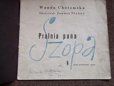 Autograf Wandy Chotomskiej - 1974