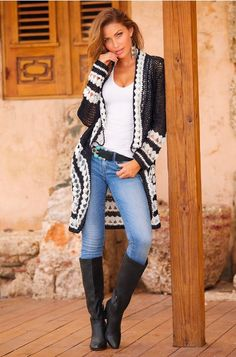 Best Women Outfit For Spring With Cardigan, A number of the funniest outfits result in warm weather. So, the next time you discover your outfit a small uninteresting, you're able to likely spice. Cardigan Outfits, Boho Outfits, Fall Outfits, Fashion Outfits, Fashion Tips, Fashion Trends, Fashion Shoes, Fall Cardigan, Fashion Ideas
