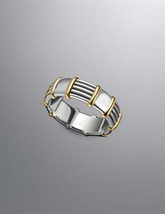 David Yurman | Men | Rings--first time I've liked gold/silver two toned jewelry