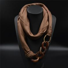 What greater accessory than this beautiful scarf? Our, Acrylic Pendant, Silk Scarf, will make any outfit chic and trendy! Item Type: Scarves Pattern Type: Floral Material: Polyester Scarves Length: 10