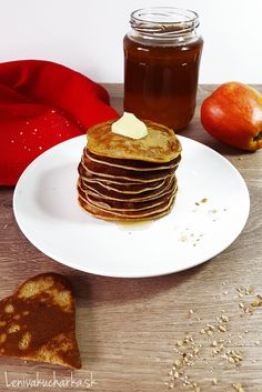 Banana pancakes with butter Banana Pancakes, Butter, Breakfast, Food, Fitness, Morning Coffee, Plantain Pancakes, Essen, Meals