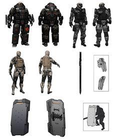 Insert Coin - Inserindo boas Ideias!: Metal Gear Rising: Revengeance Concept Arts