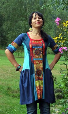 romantic ethno dress tunic by jamfashion on Etsy, $55.00