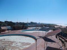 The abandoned Laguna Beach waterpark in Durban