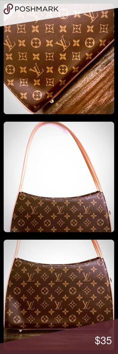 Classic LV Style Handbag ⚜️ 👜 🖤 Classic LV Style Handbag ⚜️ 👜 🖤 NWOT. New, never used, plastic covering still intact on internal zippers. (*Please note: item is not an a Louis Vuitton product). Questions? Just ask! Bags