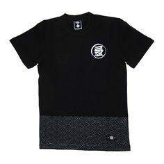 """25237c3749cb The Tsunami Wave tee features the signature KIN logo on the chest with the  Japanese """""""