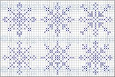 Come promesso nel post precedente, oggi fiocchi di neve gratis per tutti! Cross Stitch Christmas Ornaments, Xmas Cross Stitch, Christmas Embroidery, Christmas Knitting, Cross Stitch Kits, Christmas Cross, Cross Stitch Charts, Cross Stitching, Cross Stitch Embroidery
