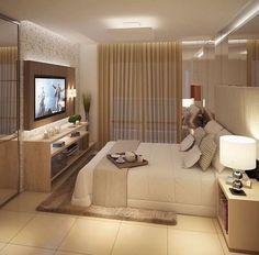 "978 Likes, 19 Comments - Valéria França ® (@garimpandodicas) on Instagram: ""Clean. Chic.lindo. #bedroomdecor #decordequarto #tonsurton #quartodecasal"""