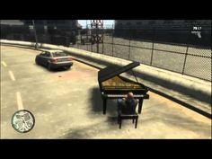 GTA 4 Piano Piano Funny, Gta, Funny Stuff, Funny Shit, Funny Things, Hilarious Stuff