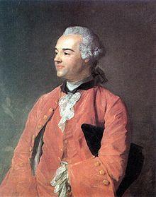 Jean-Baptiste Perronneau:  portrait of author Jacques Cazotte (Dijon 1719- Paris 1792)