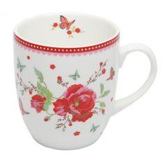 Room Seven - Mug, Poppy, 200 ml