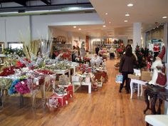 A picture of our shop in the last Christmas