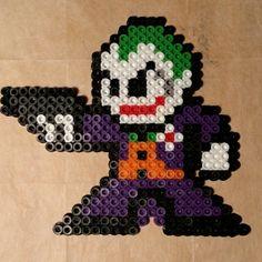 The Jocker perler beads by dezarroyo