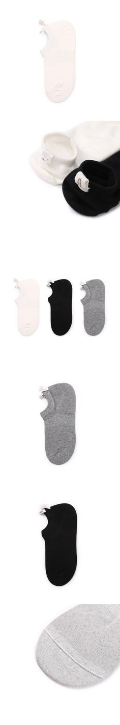 1 Pair Mens Business Cotton No Show Socks Casual Gray Breathable Black Whith Casual Solid Color Miesten sukat #DD