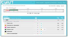 Yast — бесплатный сервис учета и планирования времени.  YAST